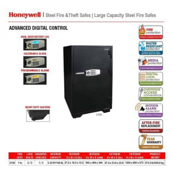 Tại sao két sắt Honeywell  2120 lại là dòng két đáng mua nhất năm 2017?