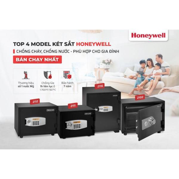 Top 4 model két sắt gia đình bán chạy nhất của Honeywell