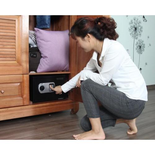 Hai model két sắt an toàn khóa điện tử sử dụng đơn giản, độ bảo mật cao phù hợp cho khách sạn